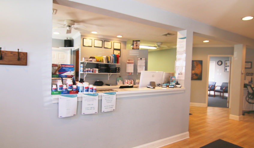 Dr. Mark Kemenosh and Associates Front Desk