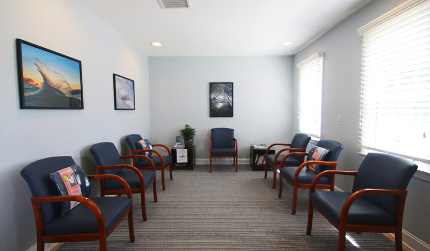 Dr. Mark Kemenosh and Associates Waiting Room