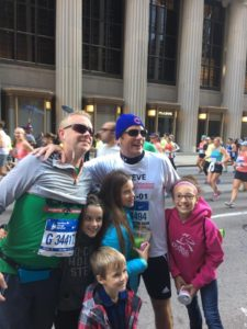 dr-craig-evans-dr-steve-harvey-chicago-marathon-2016-family