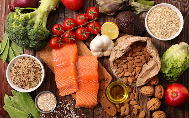 choose foods that can lower stress